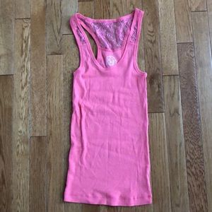 So brand medium pink tank-Bundle purchase only